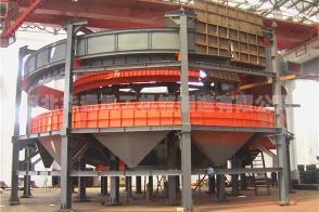 黄石印度JCL公司40平米环冷机